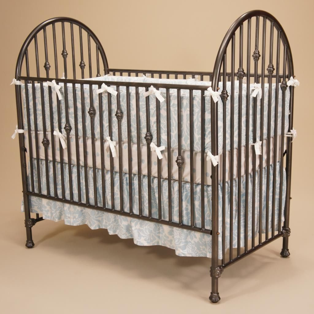 chelsea iron crib dark iron juvenile heirlooms made in the usa