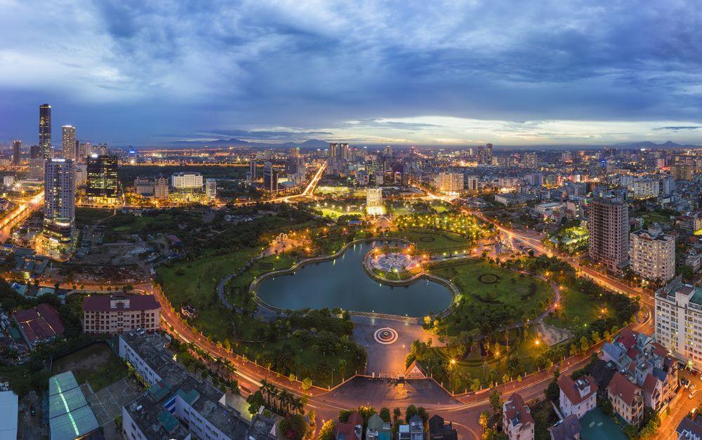 . Hlavné mesto - Hanoj