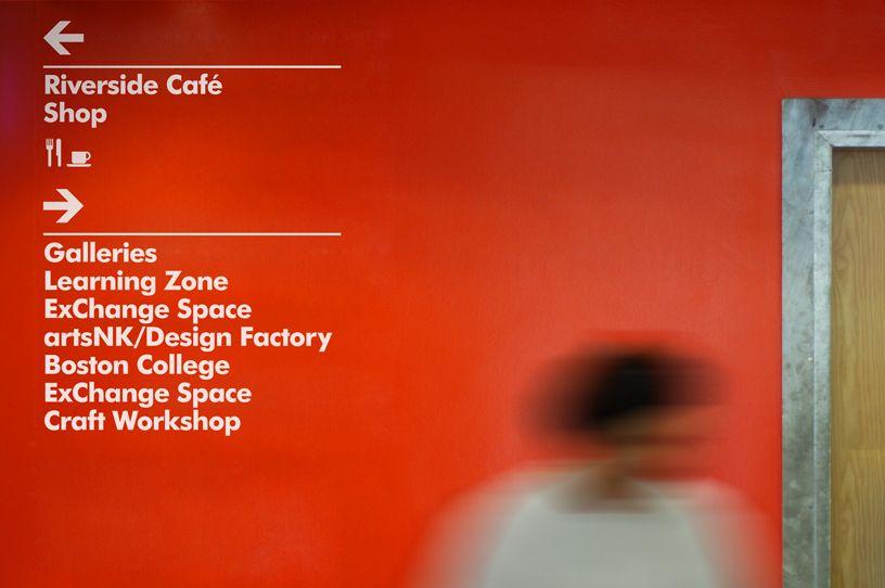 National Centre For Craft Design Wayfinding Signage