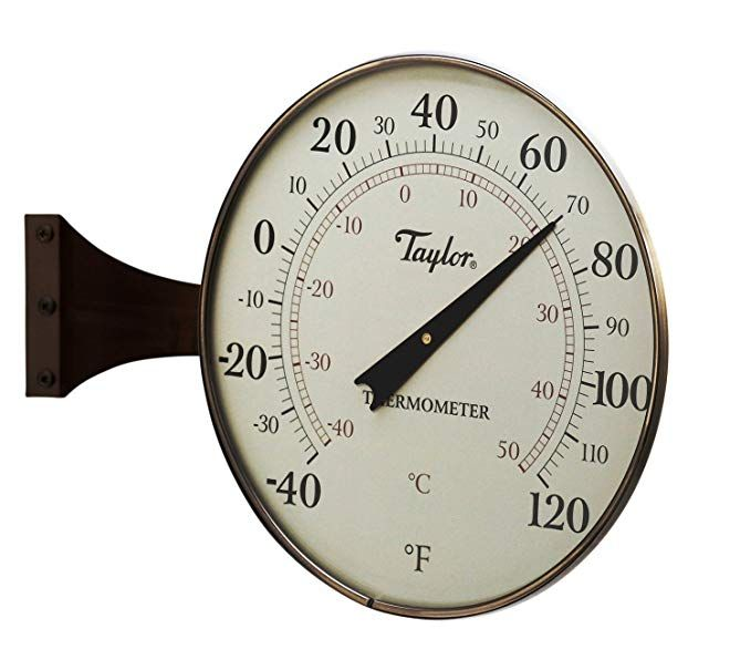 Jian Ya Na Stainless Steel Sauna Thermometer Hygrometer Vertical