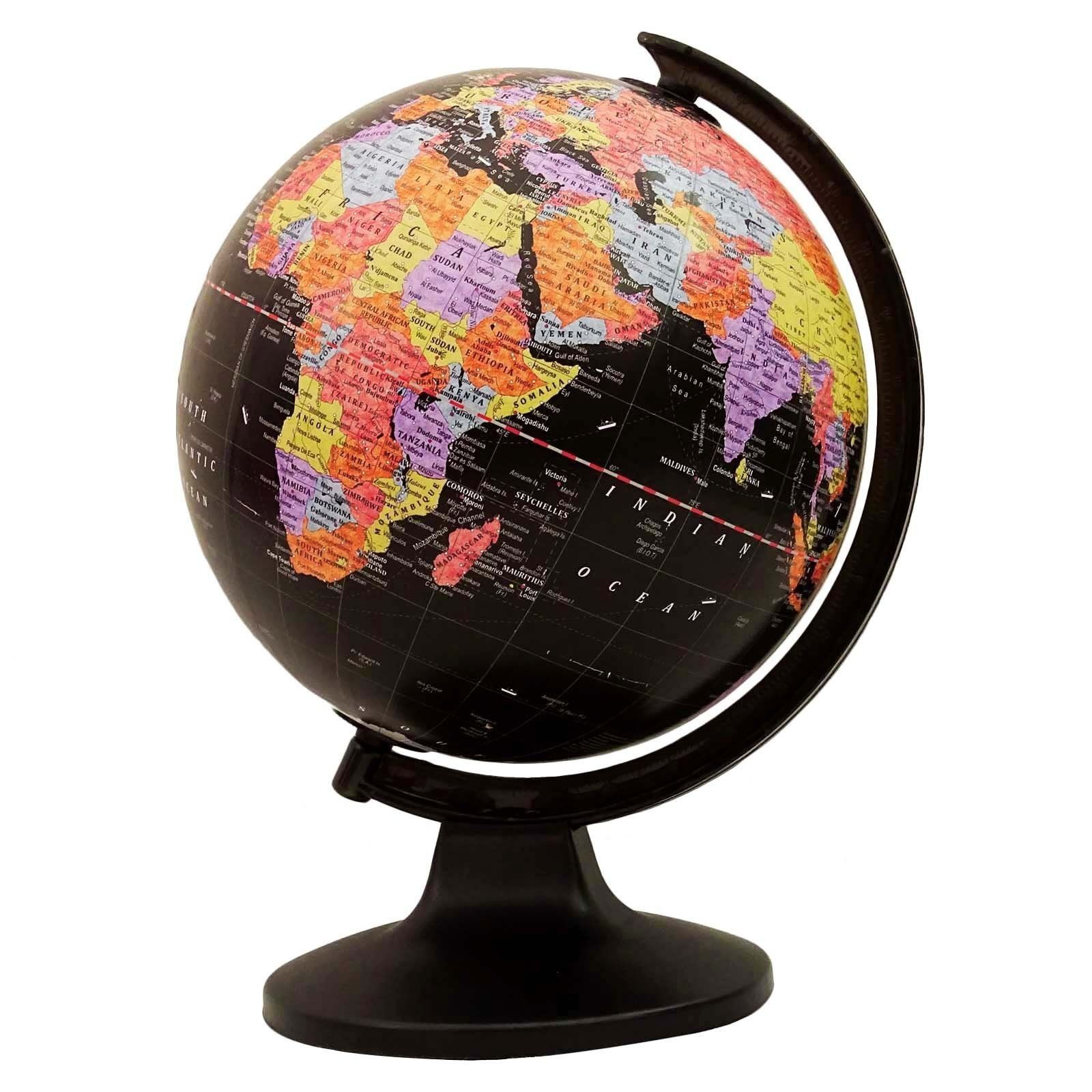 Desktop table decor rotating globes ocean geographical earth world desktop table decor rotating globes ocean geographical earth world map globe easy to read gumiabroncs Images