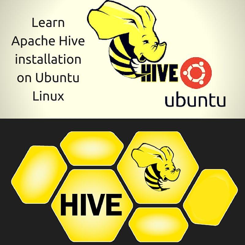 Learn Apache Hive installation on Ubuntu Linux Apache