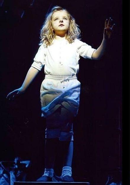 Milly Shapiro Quiet Matilda The Musical Broadway
