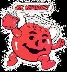Hey Koolaid Man Remember The Commercials Oh Yeah Kool Aid Here Bringing You Fun Kool Aid S Got Thirst On Kool Aid Man Kool Aid My Childhood Memories