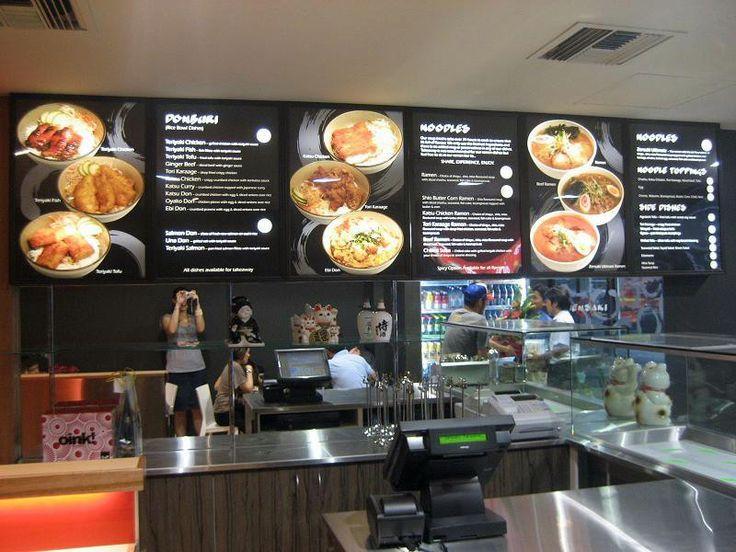 Cineplex Cafe Menu