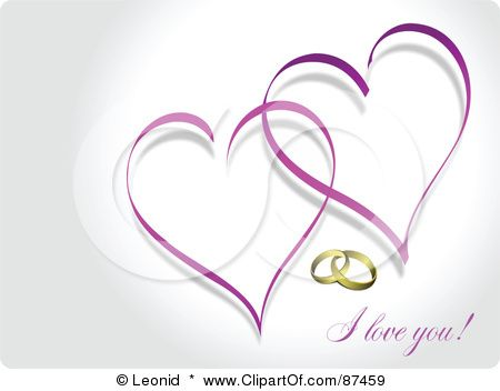 Free Downloadable Wedding Clipart Wedding Rings Clip Art Free Download Royalty Free Rf Clipart Heart Wedding Rings Wedding Ring Clipart Engagement