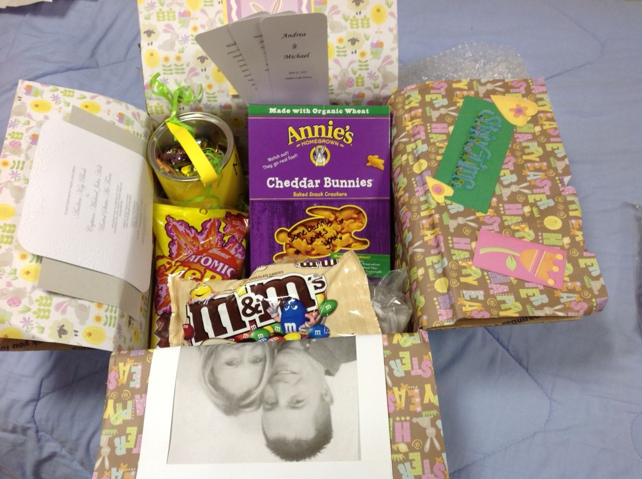 Easter care package for deployment care packages pinterest easter care package for deployment negle Image collections