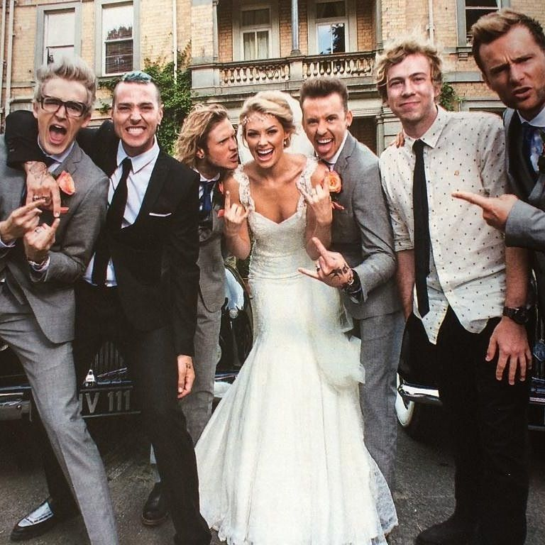 Mcbusted At Danny S Wedding