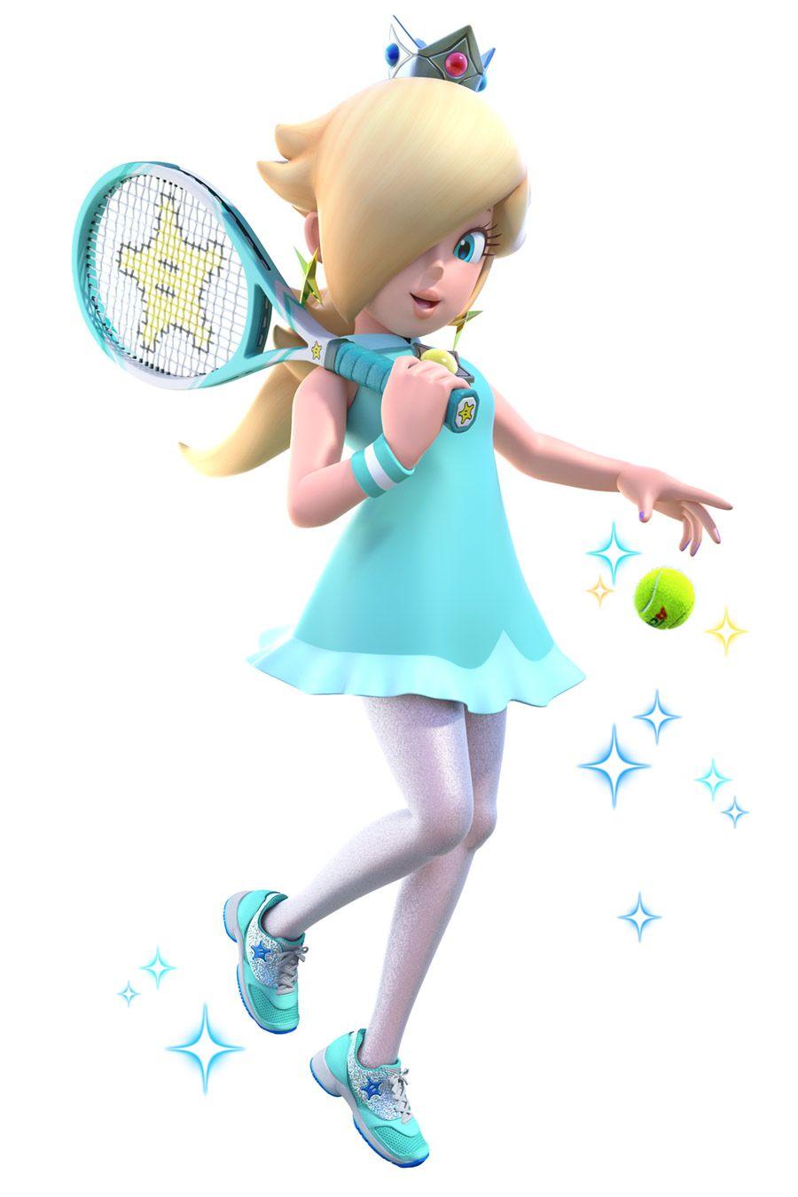 Rosalina From Mario Tennis Aces Illustration Artwork