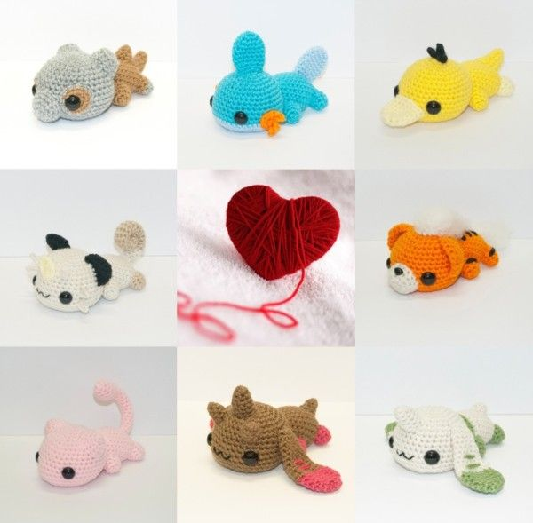 These Cute Crocheted Pokémon Are Tuckered Out | Adorable | Pinterest ...