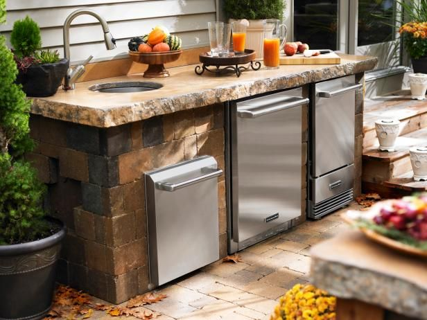 Pictures Of Outdoor Kitchen Design Ideas & Inspiration  Kitchen Amazing Outdoor Kitchen Designs Ideas Inspiration