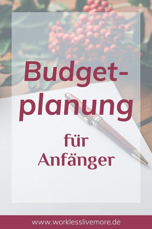 Budgetplanung ist schwer? Erfahre wie du Schritt für Schritt ein Budget planst, umsetzt und anpassen kannst. Ohne Vorkentnisse und ohne Frust! #budget #budgetieren #budgetplanung #geld #finanzen #finanzwissen #sparen #geldsparen #spartipps