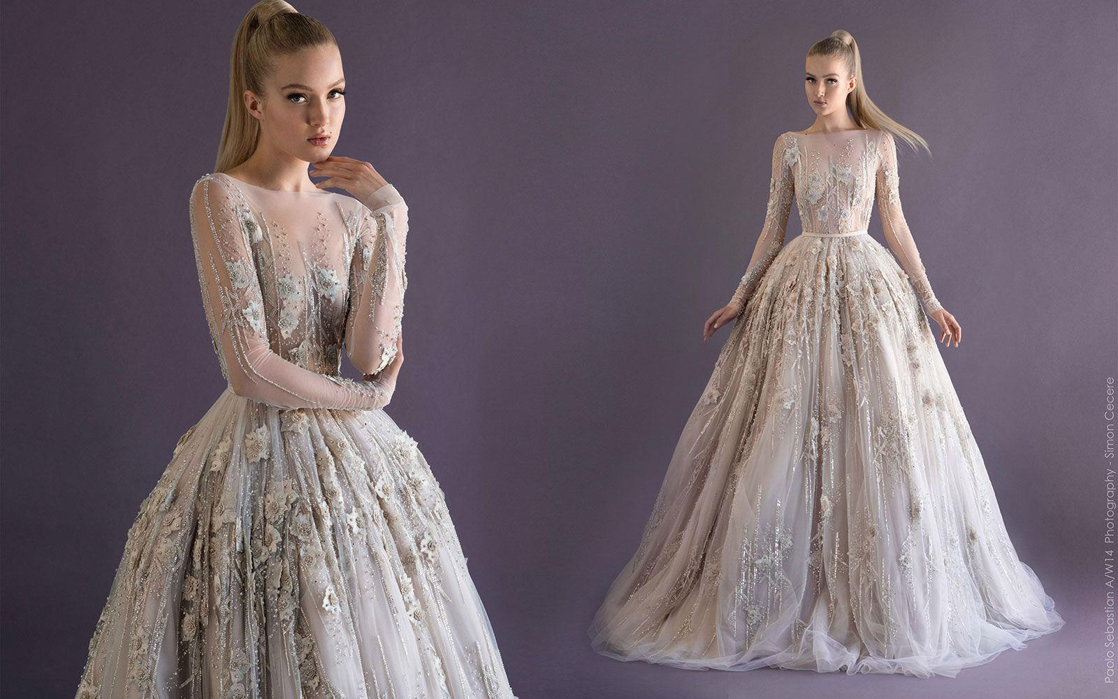 2014 AW Couture | Paolo Sebastian | Couture Goals | Pinterest ...
