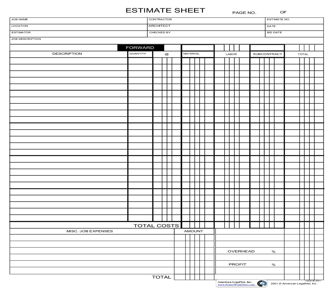 This Is A Business Forms Form That Can Be Used For