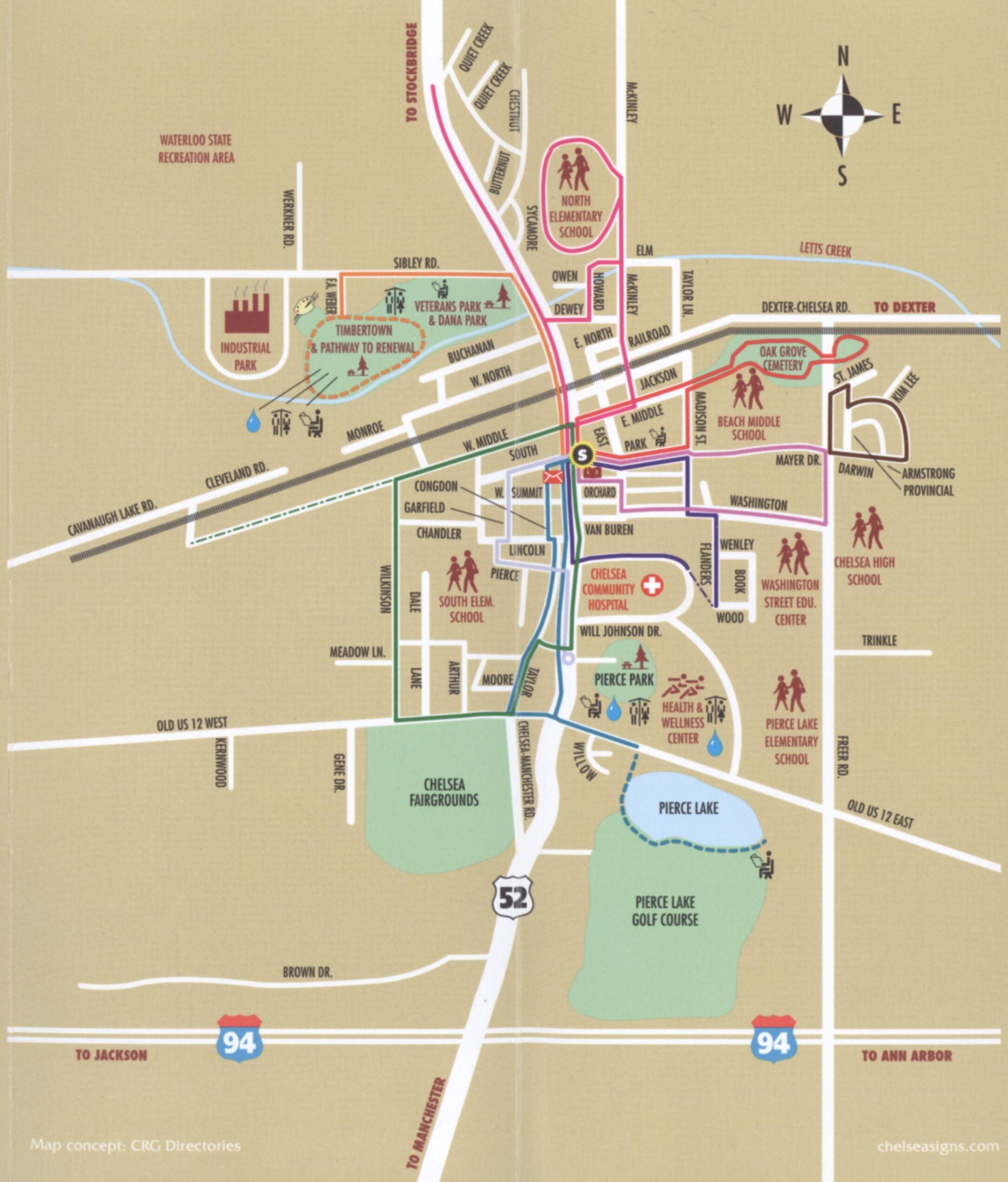Buchanan Michigan Map.Chelsea Mi Map Chelsea Mi Mappery Maps Local Pinterest