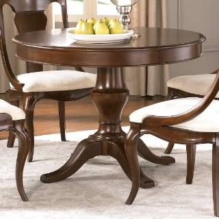 Check Out The American Drew 091 701R Cherry Grove Pedestal Table In Mid  Tone Brown