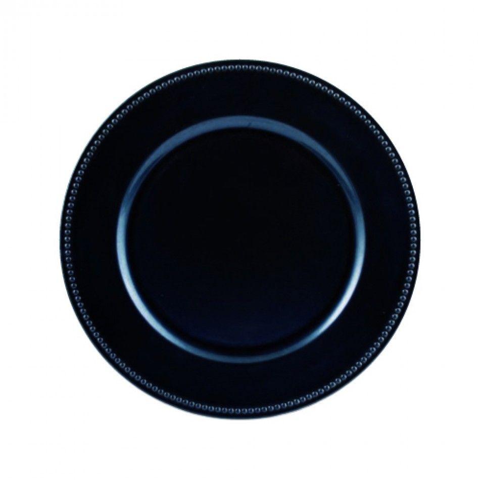 Navy Blue Charger Plates Bulk 24 Plates 402099 Wholesale