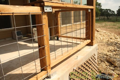Gate Slide Porch Gate Modern Porch Wood Fence Gates