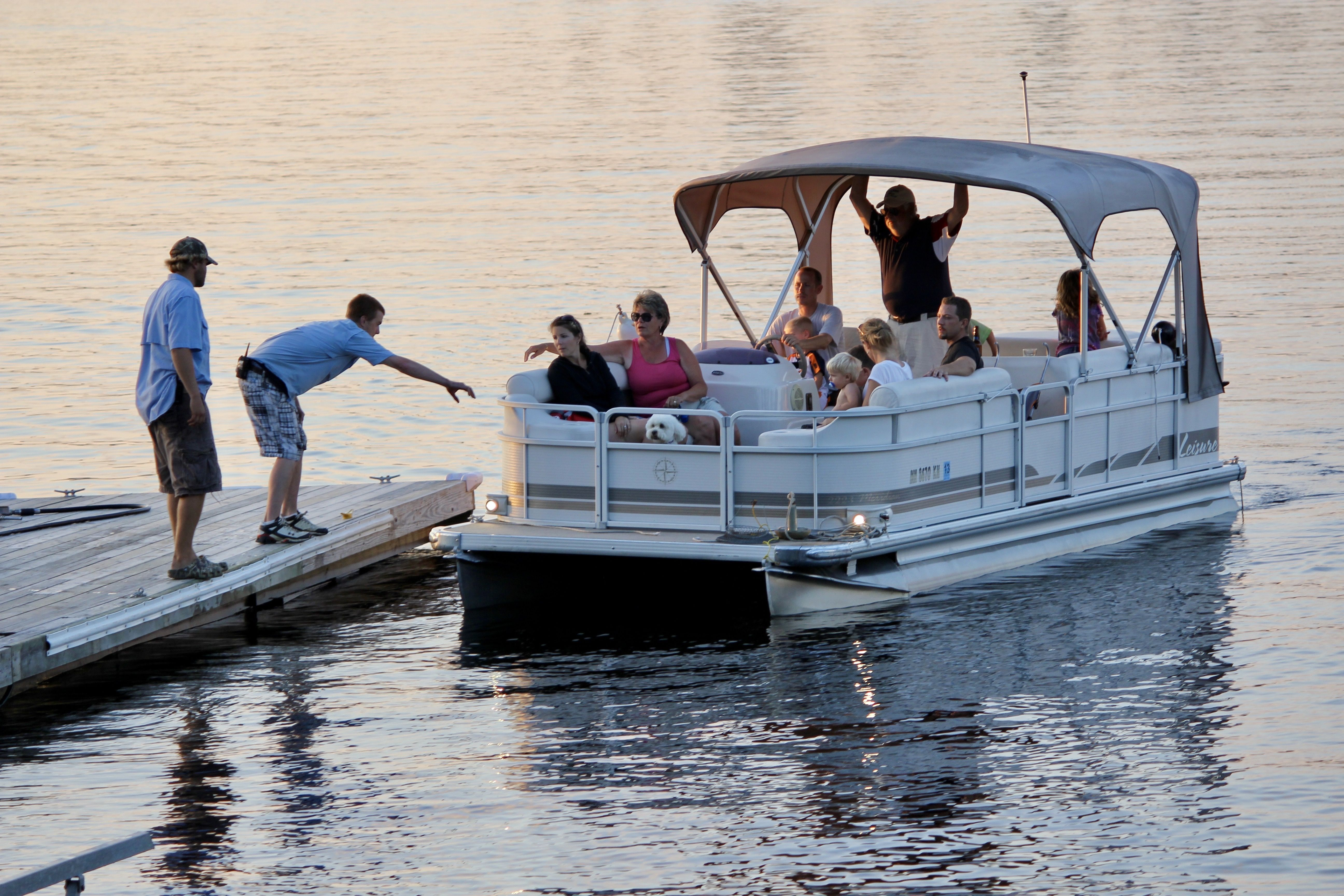 A pontoon cruise on lake vermilion is the perfect way for