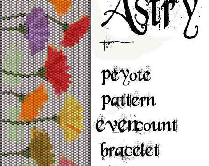 Peyote Pattern for bracelet: Peacock- INSTANT DOWNLOAD pdf | Flächen ...