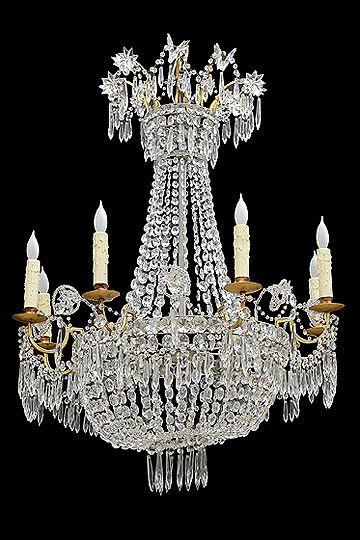 Antique italian empire period chandelier origin italy circa 1800 antique italian empire period chandelier origin italy circa 1800 dimensions width 30 height 36 aloadofball Images