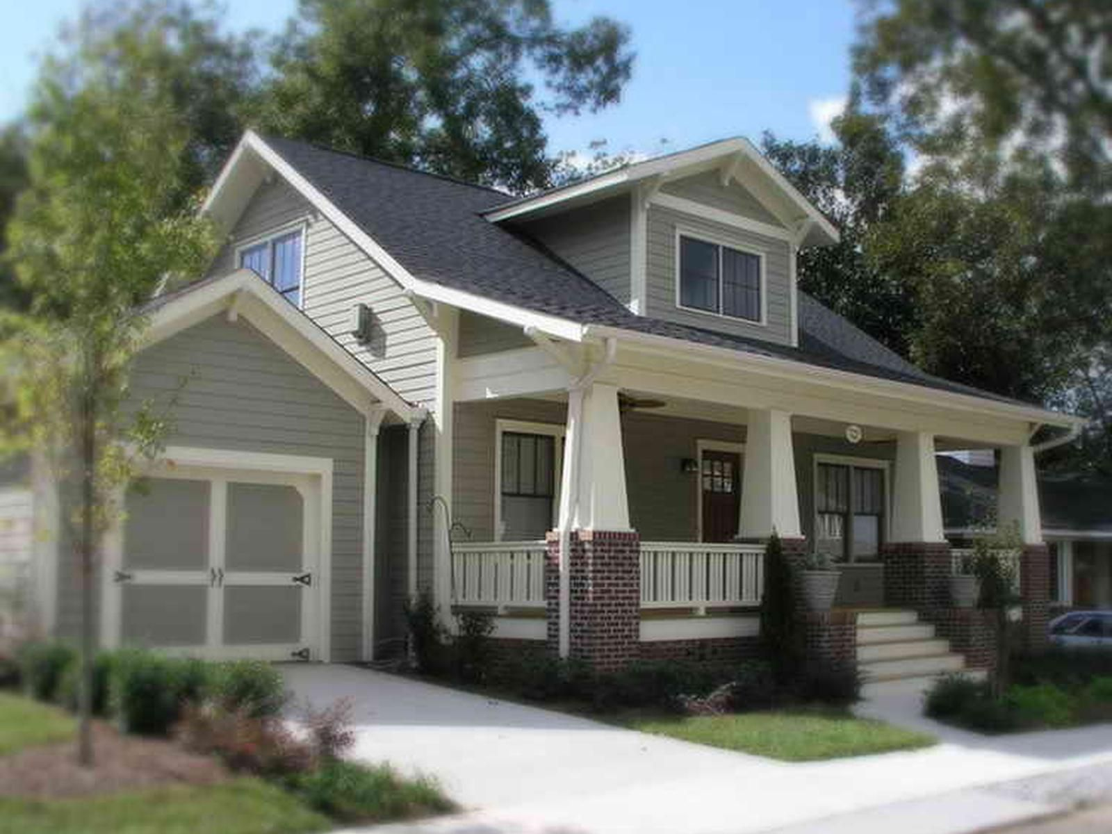 Craftsman style bungalow house colors craftsman bungalow for Craftsman home builders