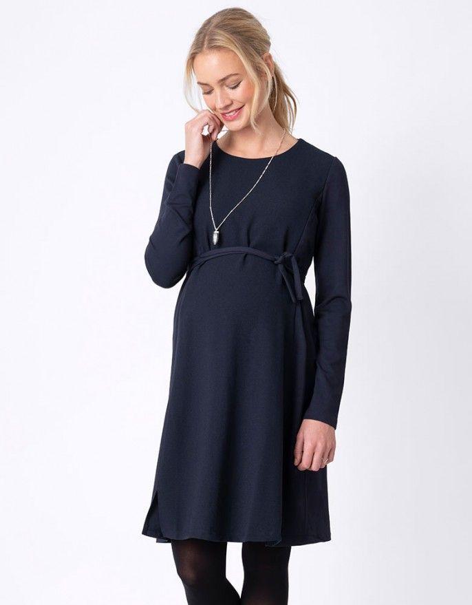 e0f6ebeaa70 A-Line Navy Blue Maternity & Nursing Dress   Gebe, 2019   Maternity ...