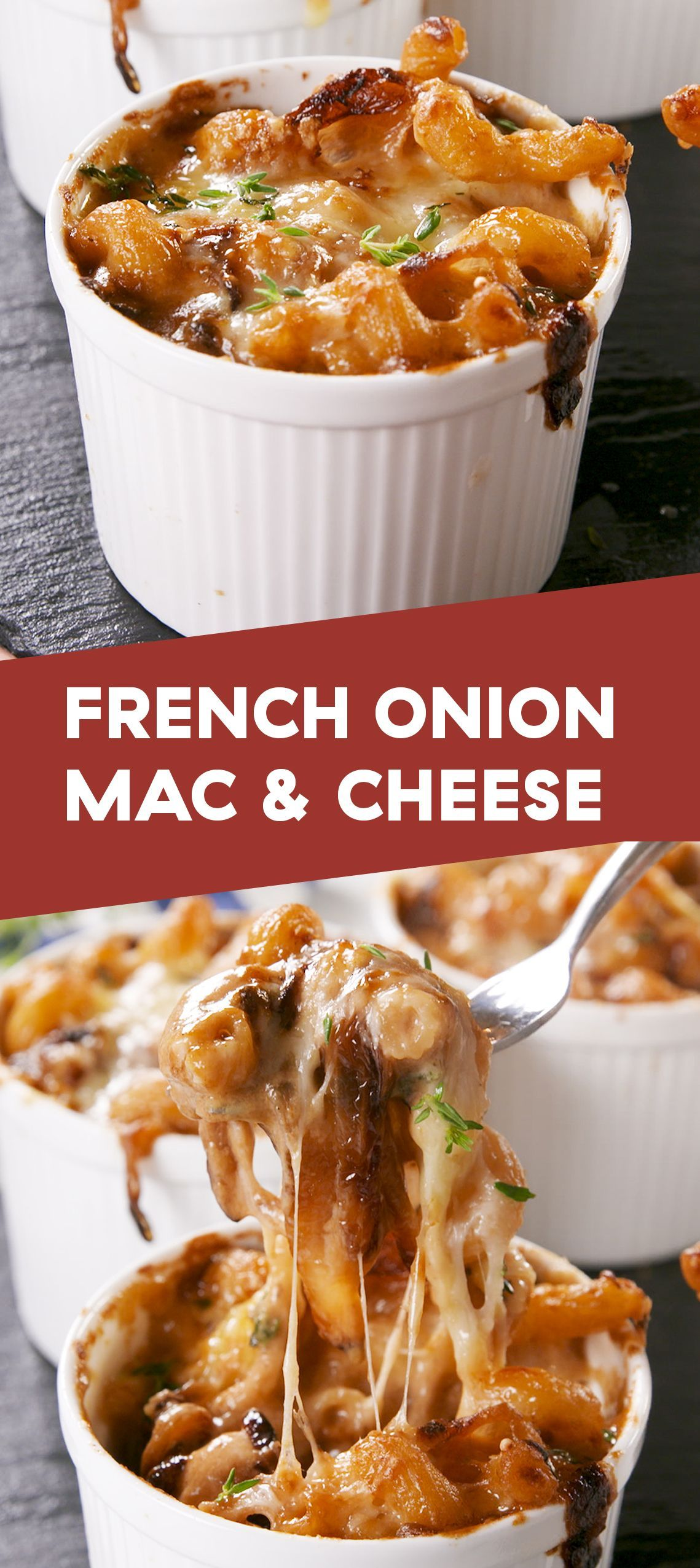 French Onion Mac Cheese Is The Grown Up Version Of Your Favorite Childhood Dinnerdelish In 2020 Recipes Food French Onion Mac And Cheese Recipe