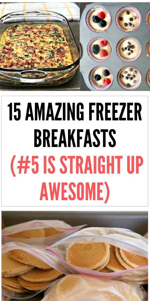 15 Freezer breakfast recipes (that will make a busy morning so much better)