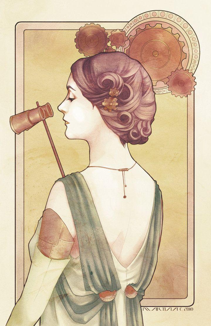 ʂŧɘąɱ ~ Steampunk & Victoriana ~ Steampunk madame by martinacecilia