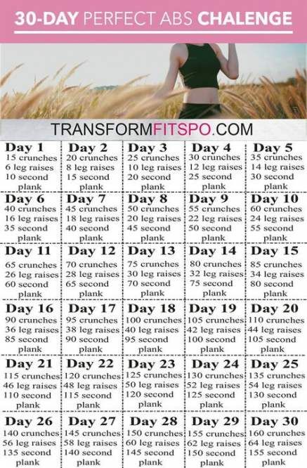 Trendy Fitness Transformation 30 Day Exercise 63 Ideas