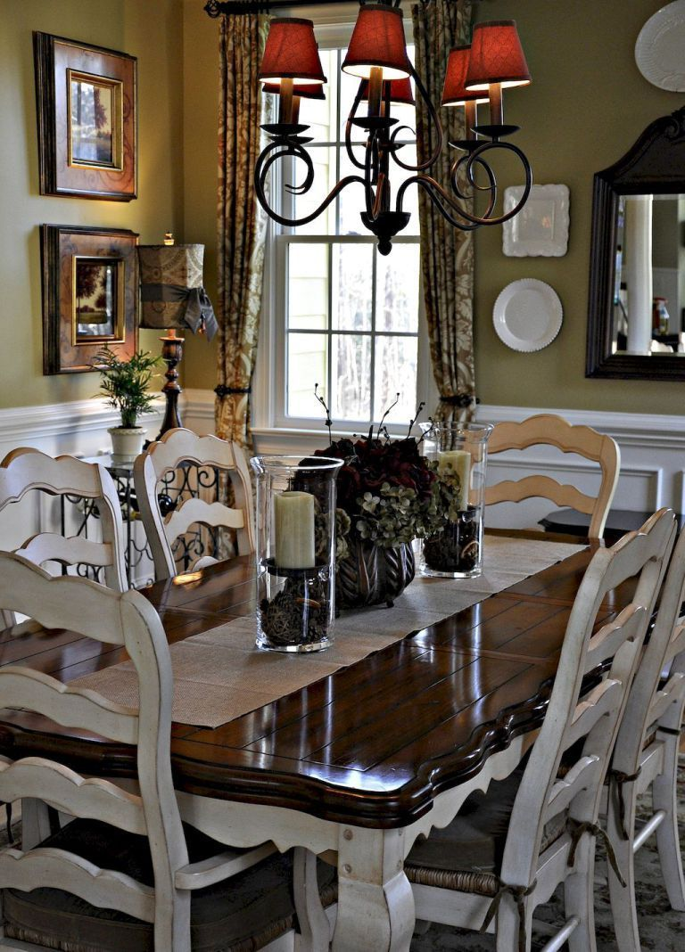 52 Awesome French Country Dining Room Decor Ideas French Country