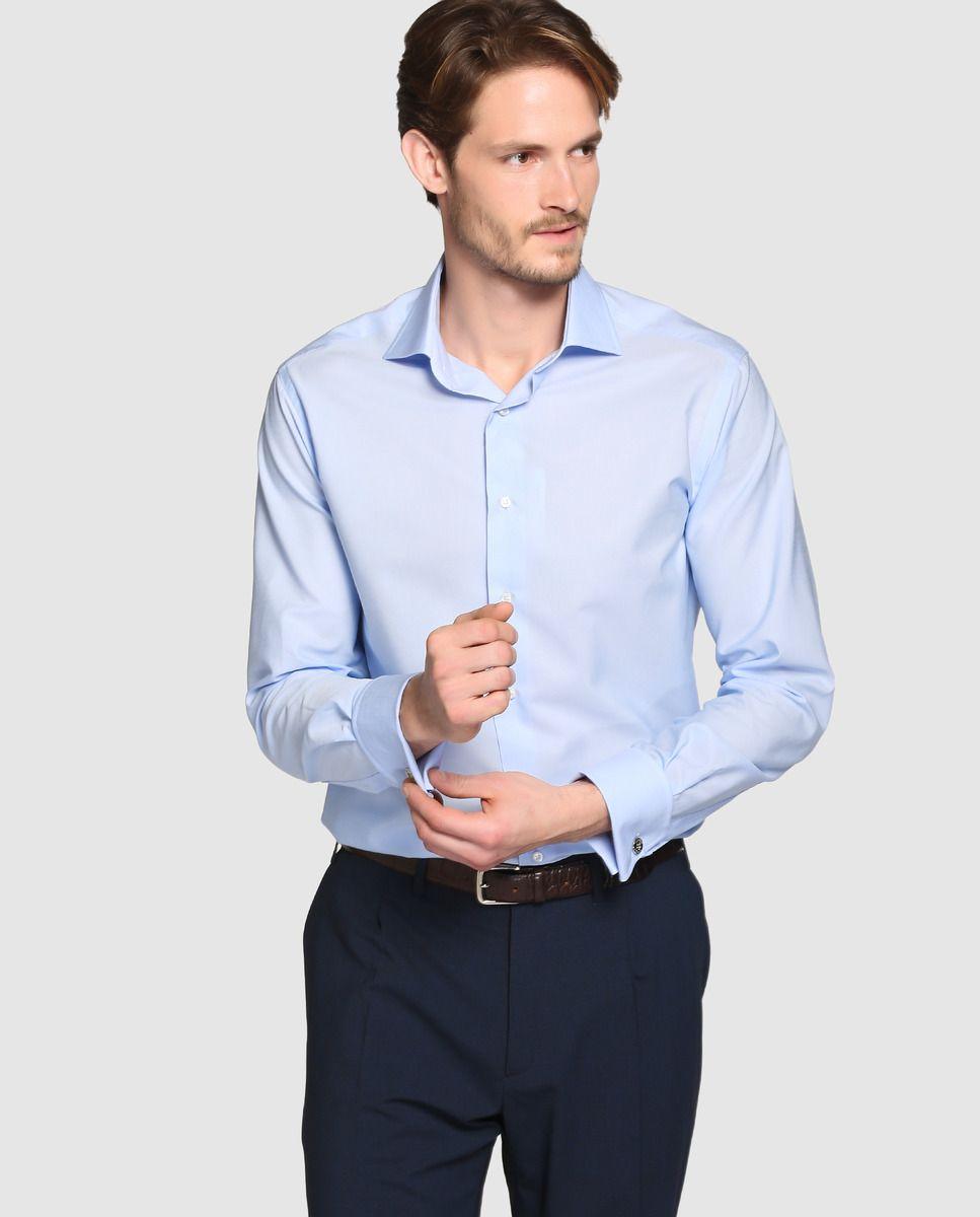 Camisa de hombre Mirto classic lisa azul · Mirto · Moda · El Corte Inglés c94073b70cb