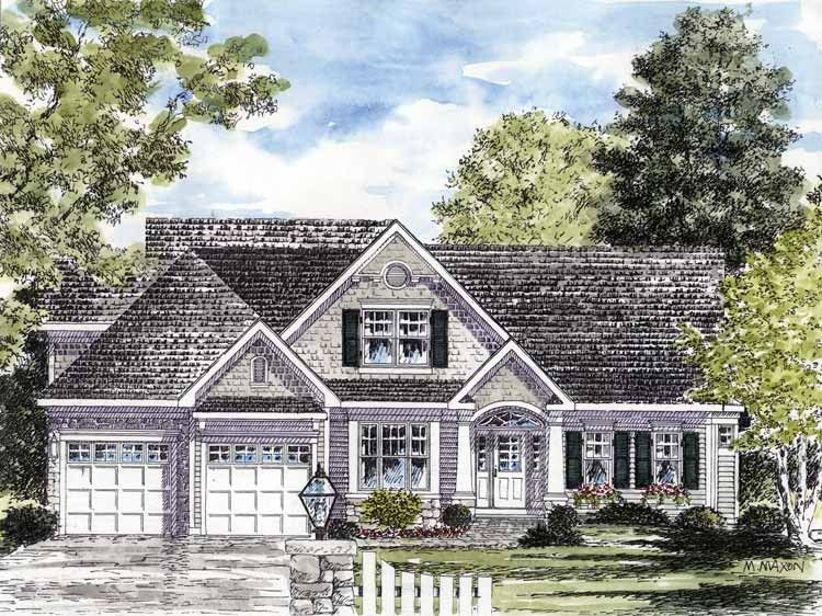 Bungalow House Plan with 2308 Square Feet and 3 Bedrooms(s) from ...