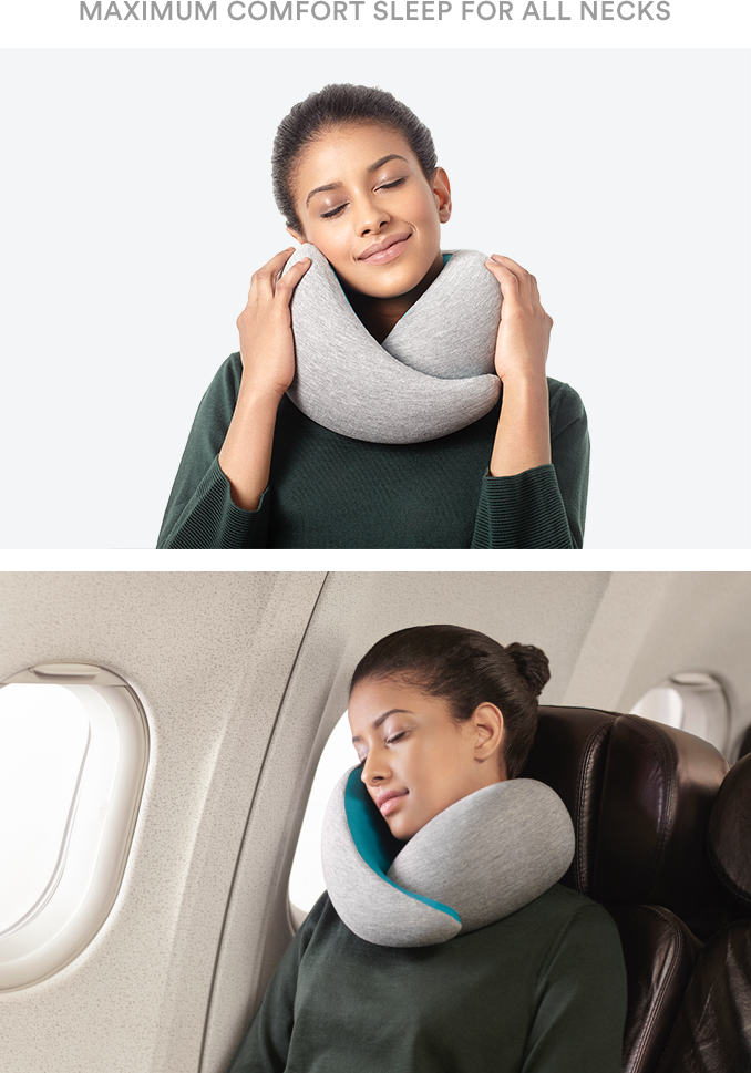 Home Design U-neck Travel Support Pillow Part - 25: The Ultimate Travel Pillow Providing Unparalleled Comfort And Total Neck  Support Thanks To Its Ergonomic Design