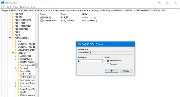Set Background Windows 10 Registry