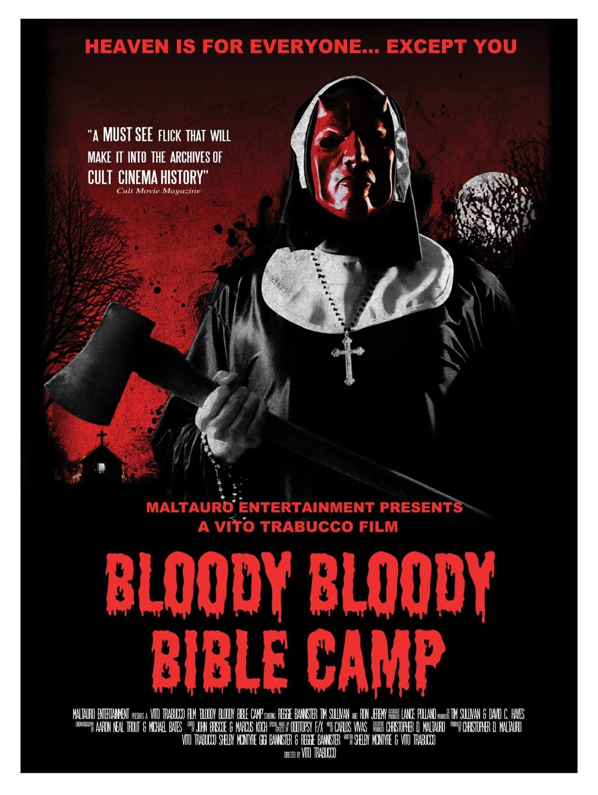 Bloody Bloody Bible Camp, truly a film about subtlety.
