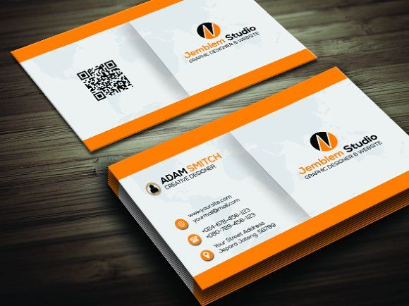 Creative Simple Business Card Simple Business Cards Business Card Template Design Business Cards Creative Templates