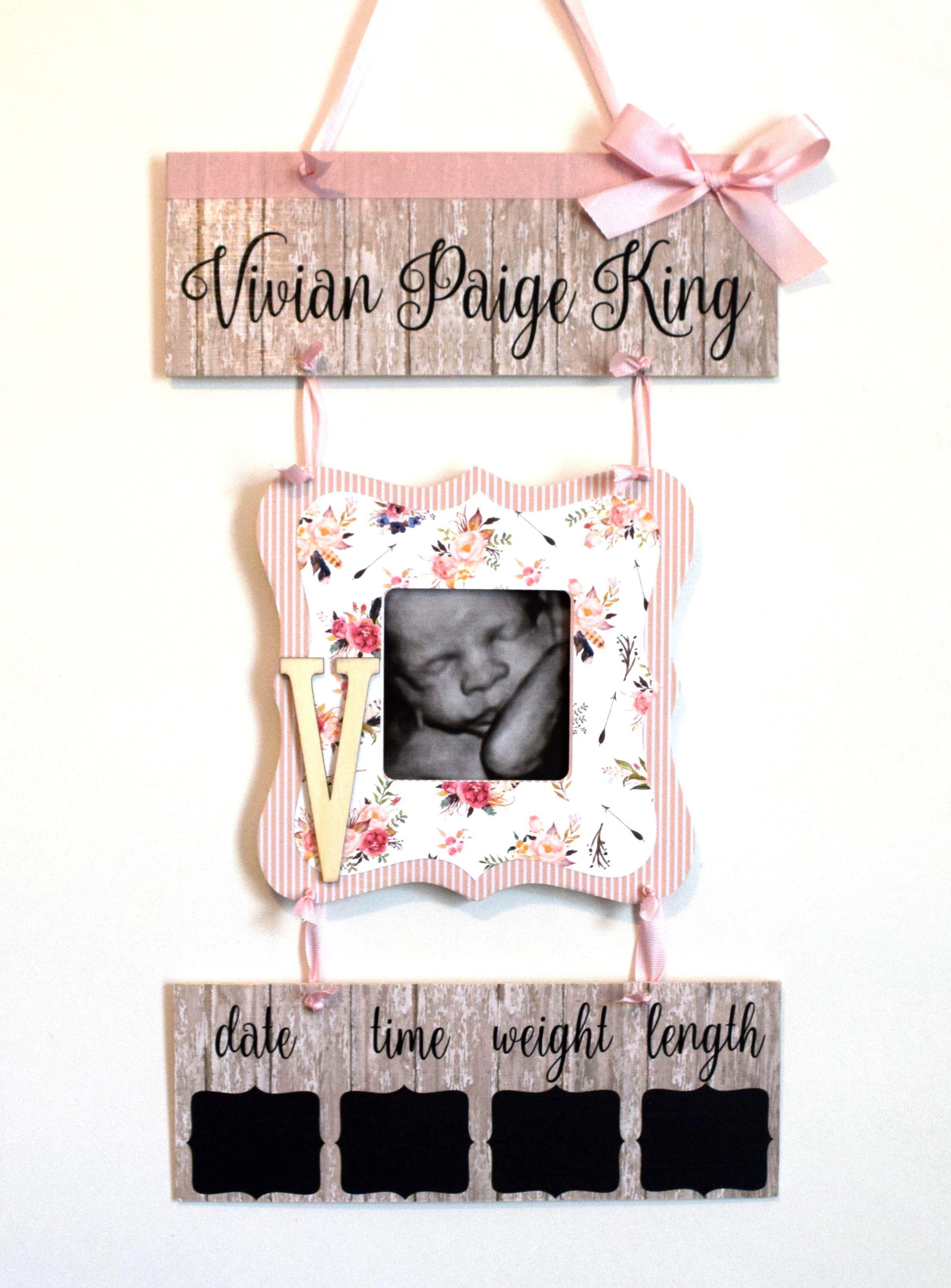 Hospital Baby Door Signs : hospital, signs, Hospital, Hanger, Rustic, Bi…, Hangers,, Door,