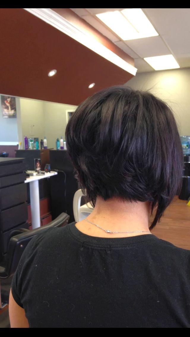 Long Front Short Back Short Bob Hairstyles Bob Hairstyles Pretty Hairstyles