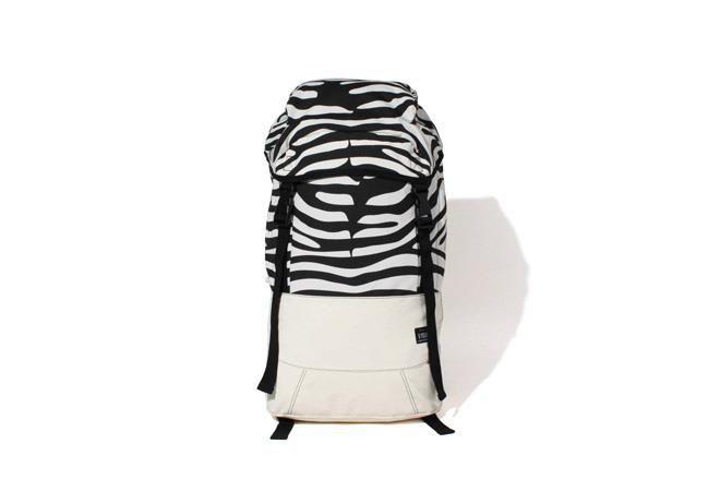 R. Newbold x Goodhood 5th Anniversary Zebra Backpack