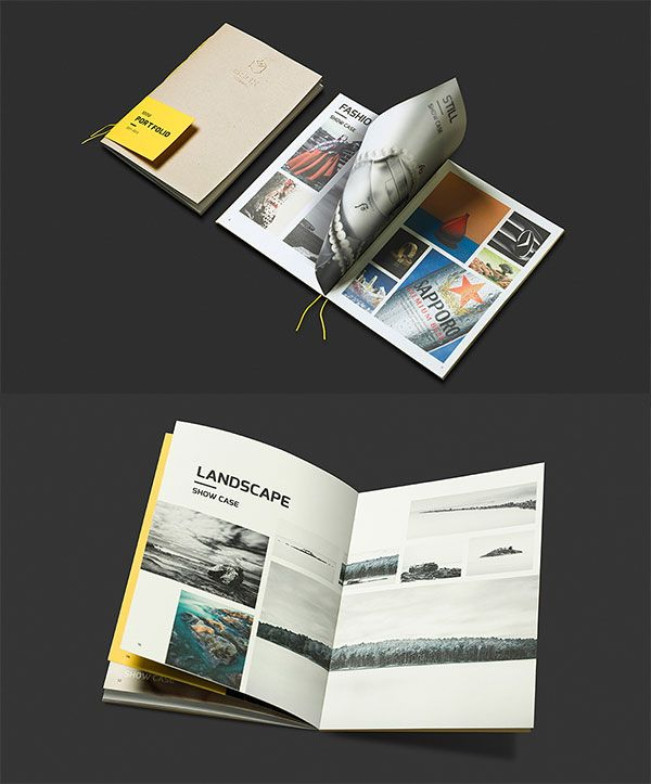 65 Fresh Indesign Templates And Where To Find More: 30+ Fresh Simple Yet Beautiful Brochure Design Ideas