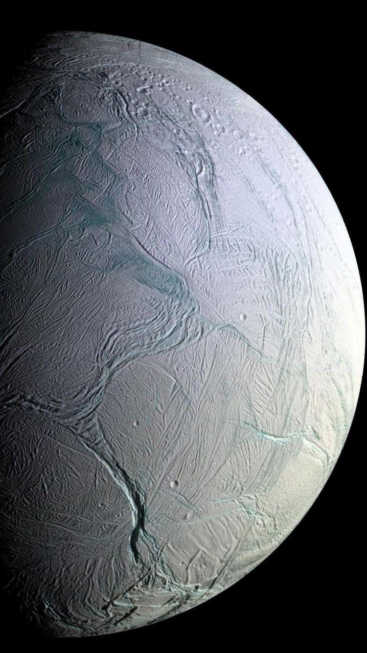 50 Space Iphone Wallpaper Enceladus Moon Space Iphone
