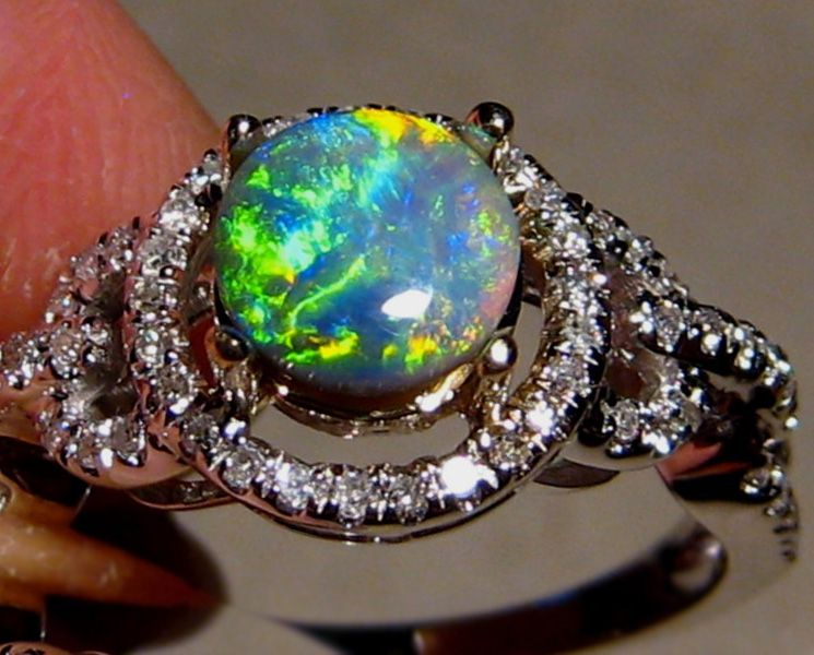Best Black Opal Wedding Rings Images   Styles U0026 Ideas 2018   Anafranil.us