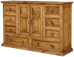Best This Very Affordable Rustic Dresser Has Eight Drawers And 400 x 300