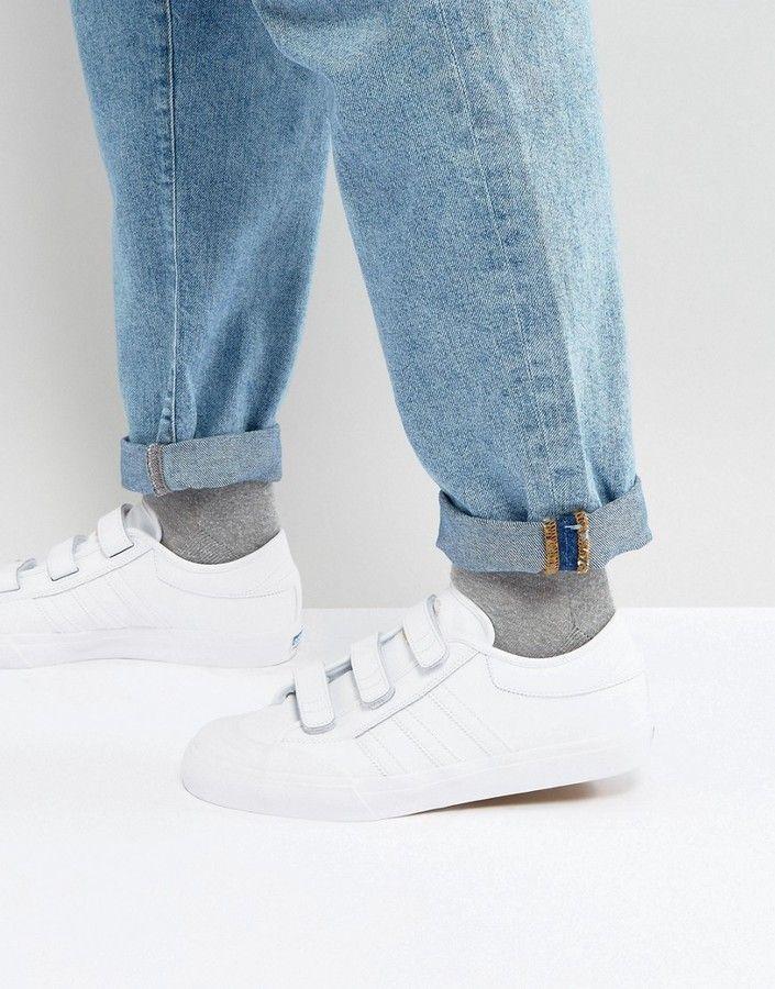 9f995472c2e9e2 Adidas Skateboarding adidas Skateboarding Matchcourt CF Sneakers In White  CG4510