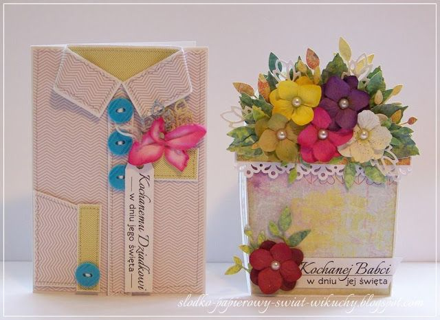 Blog Sklep Ewa Pl Na Dzien Babci I Dzien Dziadka Diy Gift Inspirational Cards Diy Cards