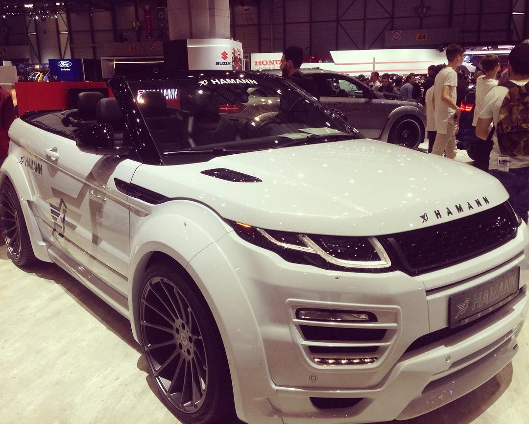 salondegeneve hamann evoque rangerover preparateur 4x4cab grossejante vroumvroum. Black Bedroom Furniture Sets. Home Design Ideas
