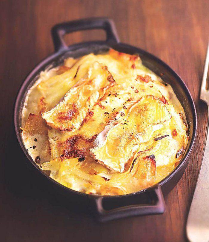 Gratin De Camembert Aux Deux Pommes Recette Recettes De Cuisine