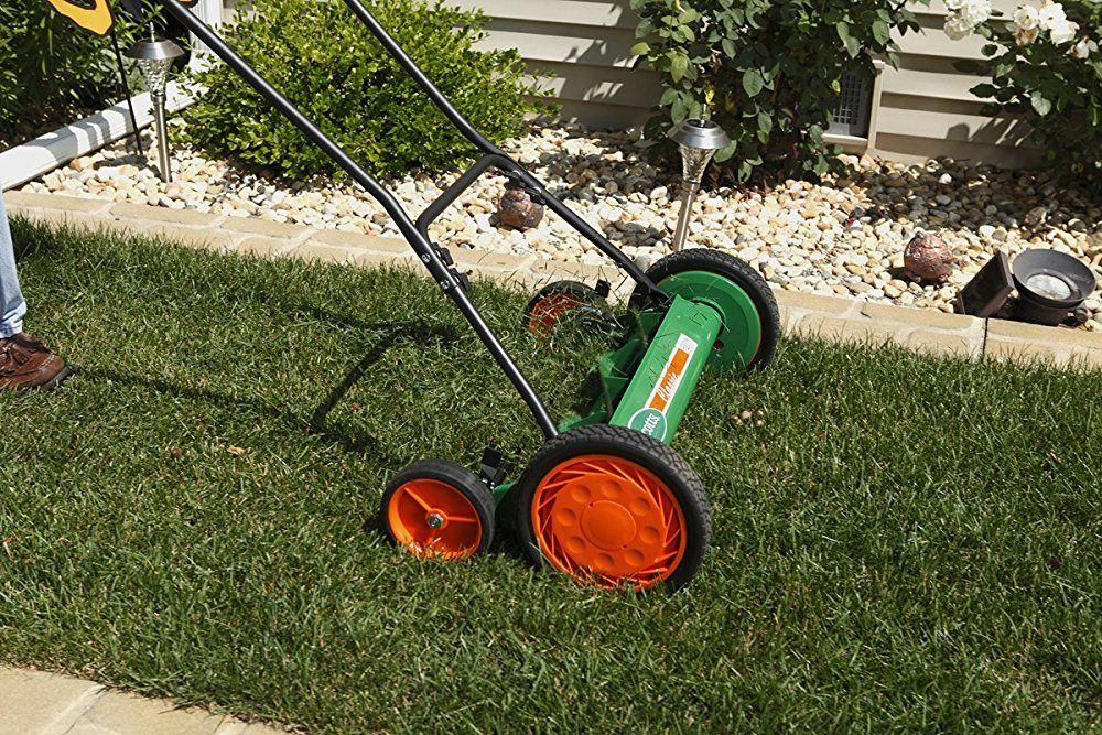 Pin On Reel Mower Lawn Mover